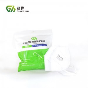 Wholesale CE FDA Approved Factory Price Kn95 Disposable N95 Respirator Mask
