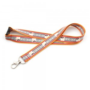 High quality polyester neck lanyard for promotion activity