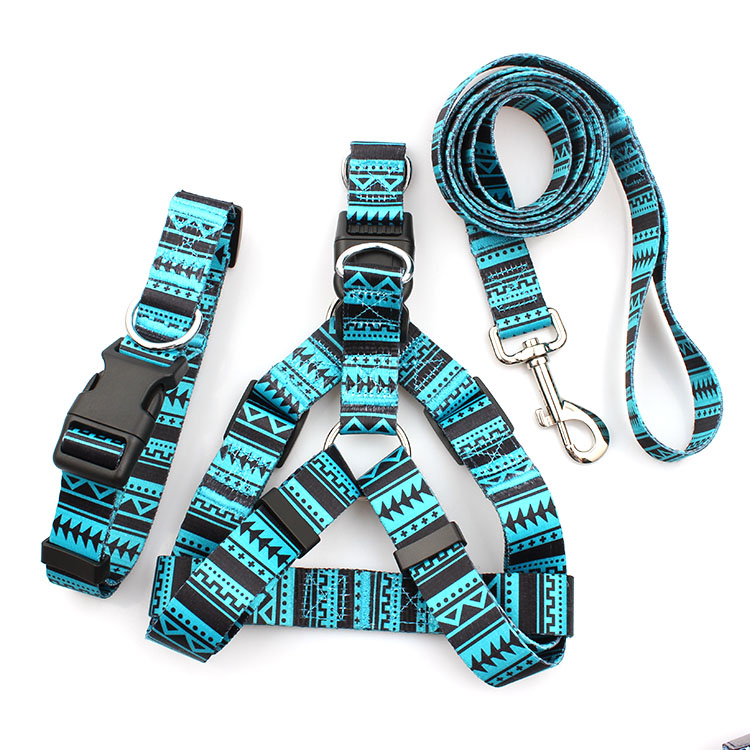 New Delivery for Rfid Fabric Wristband - Design free wholesale comfortable soft dog harness and leash set – February Webbing