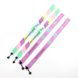 Promotional fabric advanced friendship custom RPET wristband