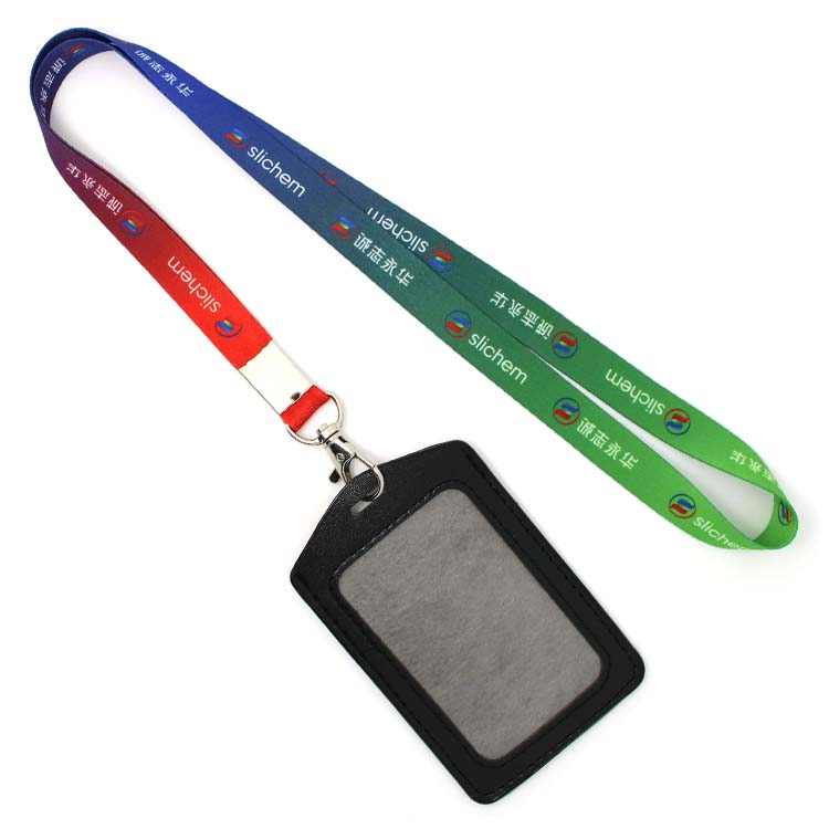 Factory made hot-sale Reflective Pet Leash - OEM cute lanyard and id card holder necklace – February Webbing