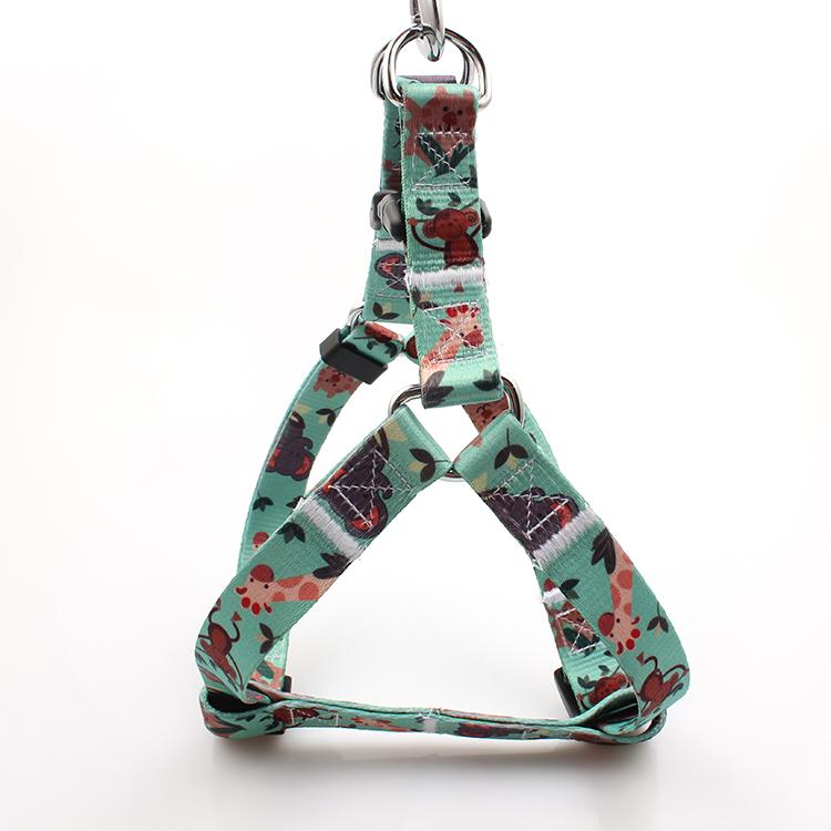 Hot sale Factory Cat Leash - Wholesale new custom adjustable soft no pull large dog harness OEM for pet – February Webbing