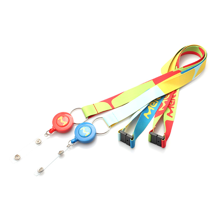 Factory Cheap Running Dog Leash - Custom sublimation printing polyester id badge holder lanyard – February Webbing