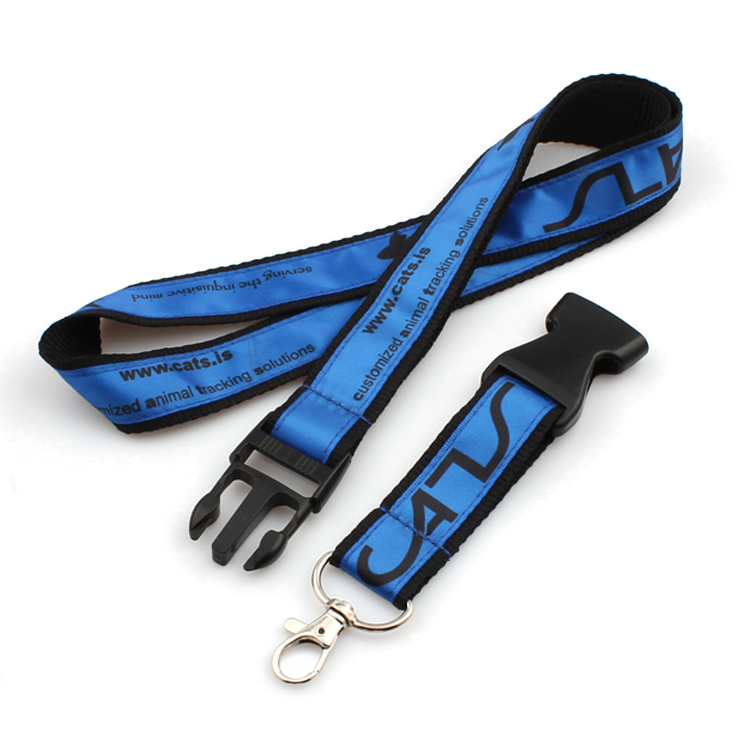 Good Quality Pet Leash And Collar - Executive woven durable polyester custom whistle lanyard – February Webbing