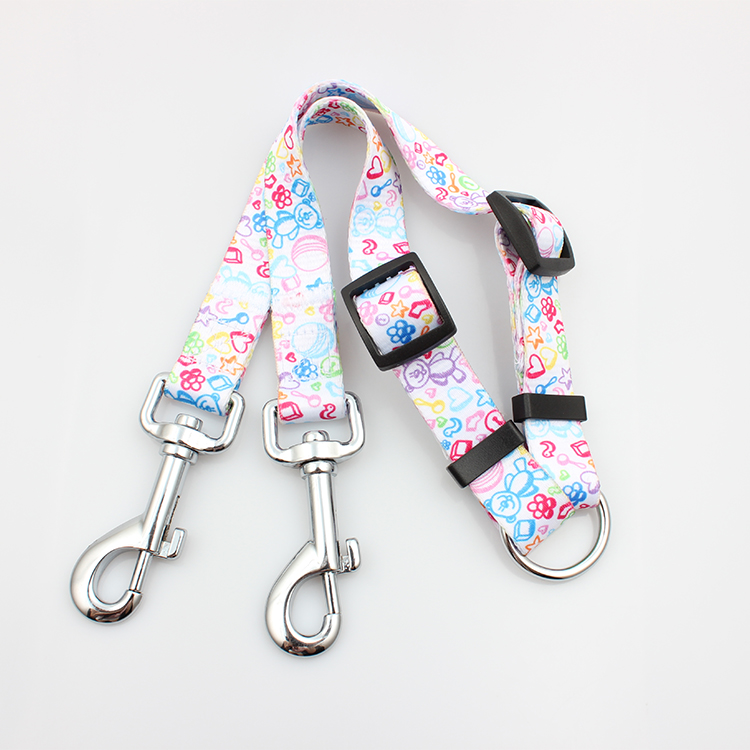 8 Year Exporter Lanyards With Logo Custom - Wholesale soft printed handle dog leashes for two dogs – February Webbing Featured Image