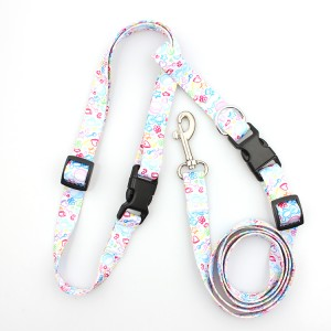 Factory sale eco-friendly comfortable adjustable running dog leash