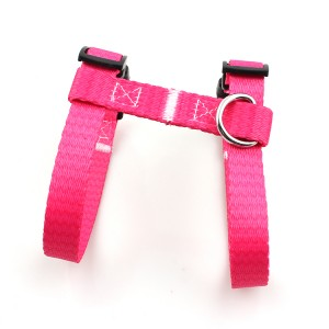 Guangzhou manufacturer comfortable soft adjustable pet harness for cat amd small animal