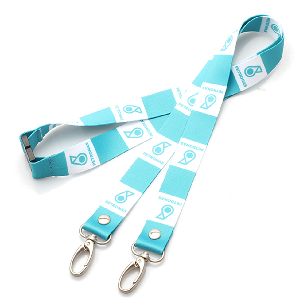 Well-designed Recycle Dog Leash - Hot Promotional custom design's lanyard with 2 hooks children – February Webbing