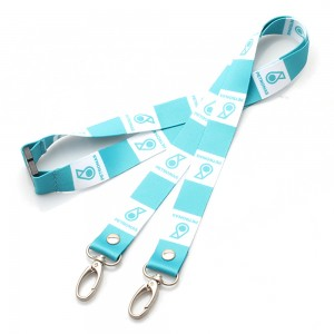 2019 hot sale cheap polyester retractable lanyards printing both side