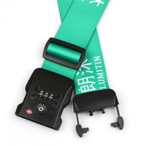 Heat Transfer Printed Fashion Breakaway Travel TSA Luggage Strap