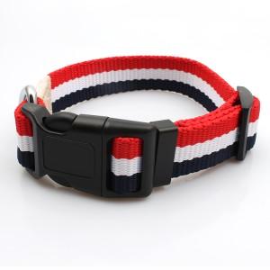 Manufactur standard Lanyard Opener - OEM cheap wholesale fancy custom design printing pet collar for dogs – February Webbing
