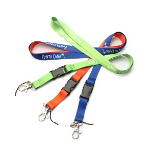 China Wholesale High Quality Cheap Breakaway Necklace Lanyard With Custom Logo
