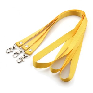 Wholesale high quality nylon imprint blank lanyard