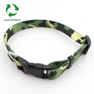 RPET webbing dog and cat safety collar for walking from China supplier