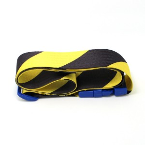 50 mm width polyester sublimation printed luggage belt with removable buckle