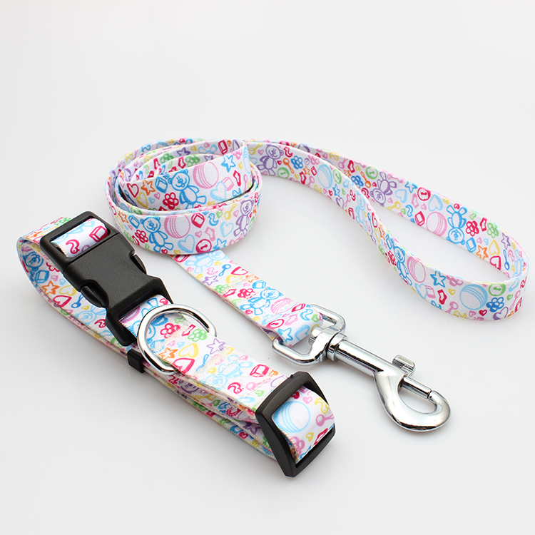 Big Discount Club Wristband – High Quality Bamboo Pet Leash And Collar Set With Breakaway Buckle – February Webbing