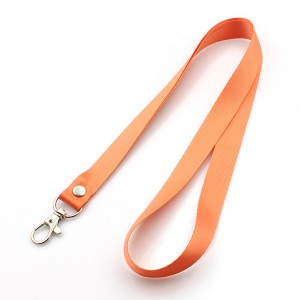 Hot selling custom printed polyester lanyard neck strap