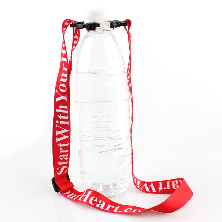 Wholesale Custom Sublimation Lanyard - wholesale custom sublimation printed water bottle holder lanyard neck free sample – February Webbing