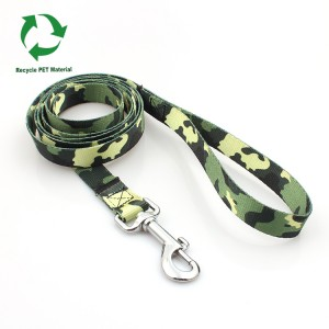 Promotional wholesale factory supplied RPET custom logo directly dog leash