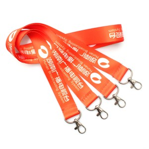 Hot Promotional custom design's lanyard with 2 hooks children