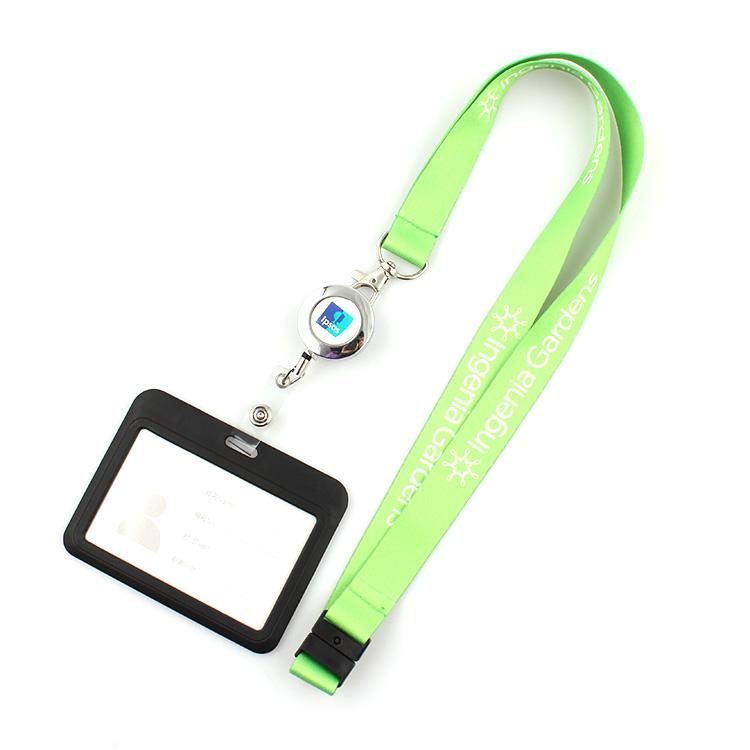 Massive Selection for Sublimation Dog Leash - Promotional yoyo id card holder lanyard ,yoyo card holder with lanyard – February Webbing