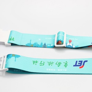 2019 new design custom luggage strap with handle from manufacturer