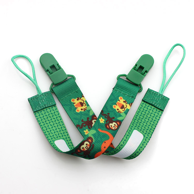 2017 China New Design Yoyo Lanyard - China manufacturer direct selling personality of good quality baby pacifier clip – February Webbing