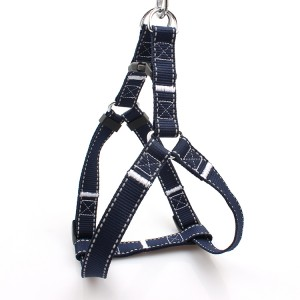 Wholesale heavy duty safe walk at night reflective dog harness