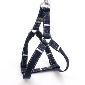OEM/ODM Manufacturer Adjustable Pet Harness - Wholesale heavy duty safe walk at night reflective dog harness – February Webbing