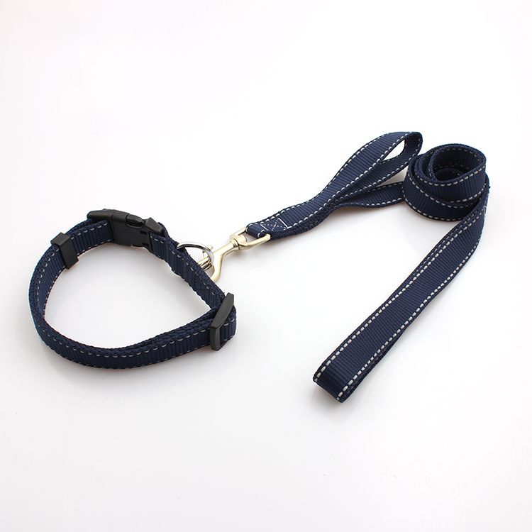 100% Original Factory Custom Short Lanyard - Reflective double Dog Leashes For Safe Night Walks – February Webbing