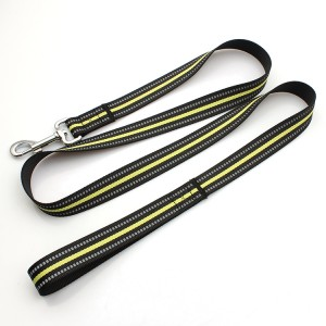 100% eco-friendly polyester environmental protection material dog leash reflective