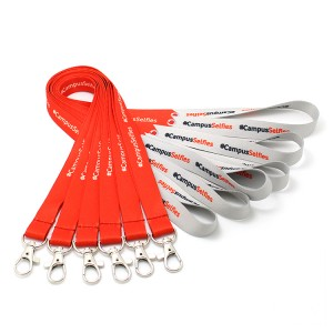 Wholesale price high quality nfl lanyard with metal hook
