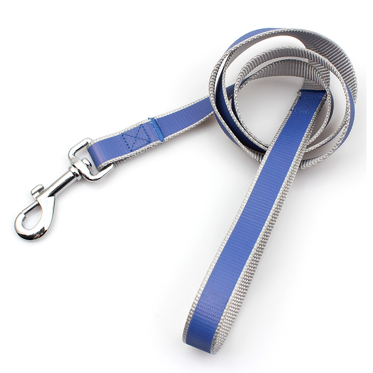 Factory made hot-sale Retractable Lanyard - OEM heavy duty portable private label reflective material dog leash logo – February Webbing