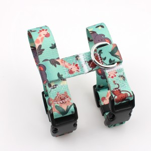 Wholesale eco friendly material printed premium quality cat harness