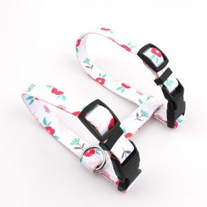 Factory sale custom sublimation printed cat harness