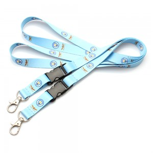 High Quality Custom Logo Printed Sublimation Polyester Lanyard