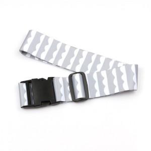 2017 Good Quality Lanyard Pen Holder - Adjustable Belt Manufacturers Wholesale Custom Safety Luggage Strap – February Webbing