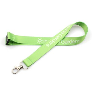 Hot sale high quality custom logo polyester full color printing thin lanyards