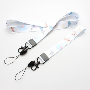 Nylon neck Lanyard With Logo Customized