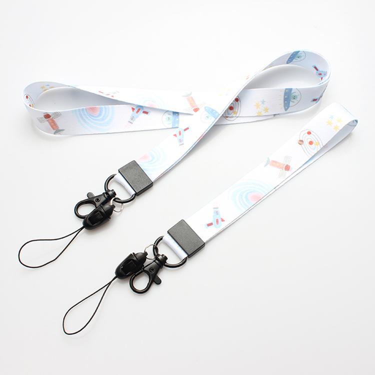Chinese Professional Lanyard Id Holder - Nylon neck Lanyard With Logo Customized – February Webbing Featured Image