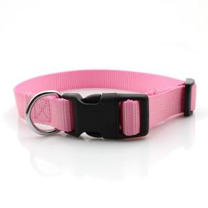 2019 Fashion design dog  nylon pet collar no minimum order