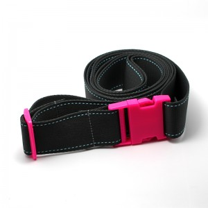 100% Polyester best selling luggage belt with breakaway buckle in GuangZhou