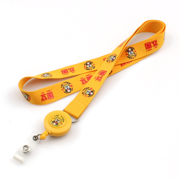 Wholesale Rfid Wristband - Eco-friendly cheap custom yoyo lanyard no minimum order – February Webbing