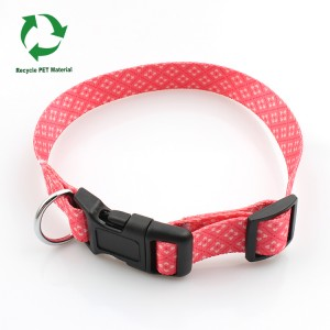 RPET material recycle camouflage sublimation dog collar