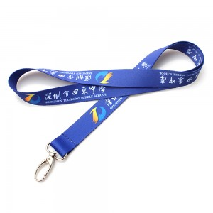Custom printed fashionable mobile phone neck lanyard