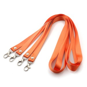 Hot selling custom printed polyester lanyard neck strap