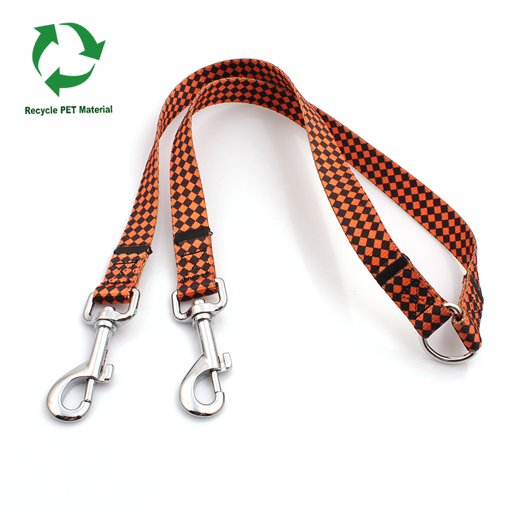 Factory Price Adidas Lanyard - Wholesale portable RPET recycled thick dual dog leash material – February Webbing