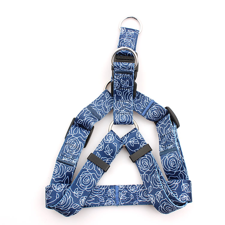 Factory Price For Id Holder With Lanyard - Factory oem custom printing dog harness leash with logo design free – February Webbing