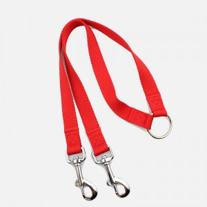 Factory durable wholesale personalized double dog training leash