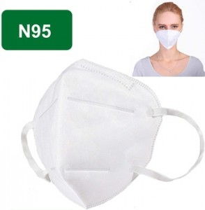 Disposable N95 cone shape dust face mask with /without value